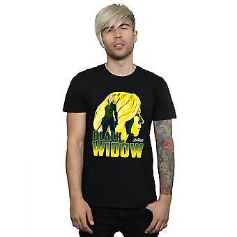 Avengers Men's Infinity War Black Widow Character T-Shirt