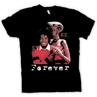 Mens t-skjorte-Et Michael Jackson - fremmede alltid