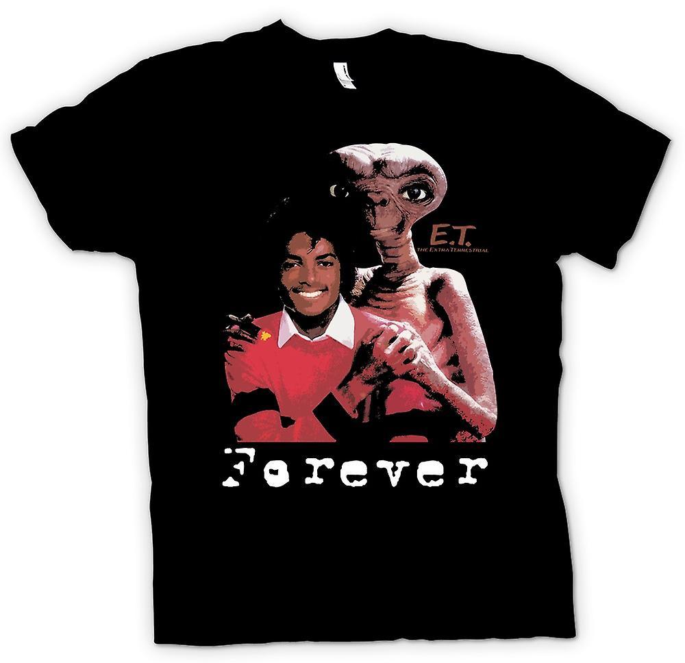Bambini t-shirt-Et Michael Jackson - Alien per sempre