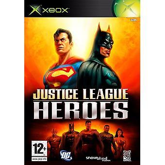 Justice League hjältar (Xbox)