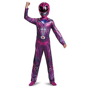 Pink Ranger Movie Classic Saban's Power Rangers Superhero Girls Costume