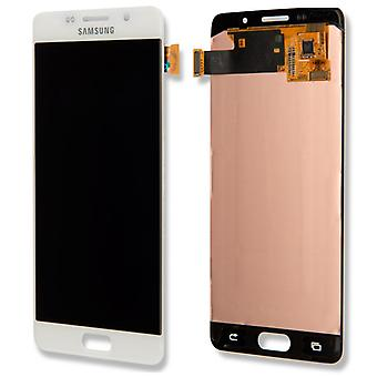 Display LCD complete set GH97 18250A white Samsung Galaxy A5 A510F 2016
