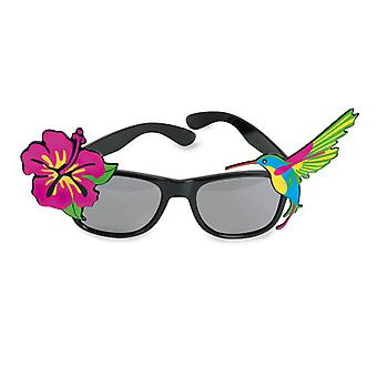 Glasses Hawaii Beach summer Luau accessory joke article