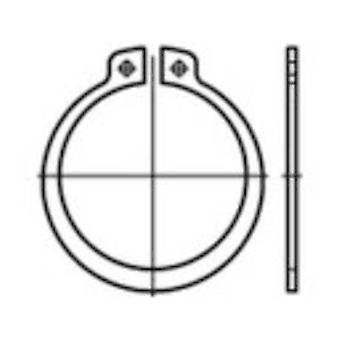 Retaining rings Inside diameter: 27.9 mm DIN 471 Spring steel 100 pc(s) TOOLCRAFT 107667