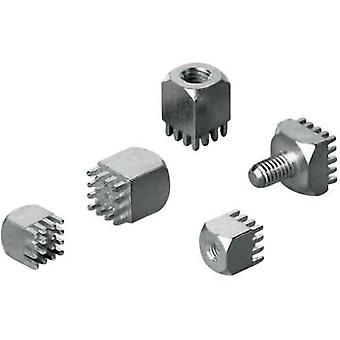 Würth Elektronik 7461061 Receptacles (standard) WP Total number of pins 36 Contact spacing: 2.54 mm 1 pc(s)