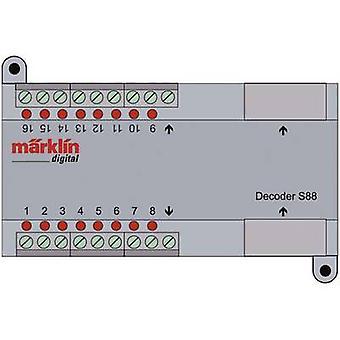 S 88 DC decoder Märklin 60882 DCC