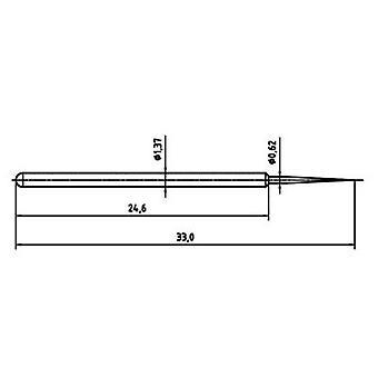 PTR-1025/E-BST-1.5N-AU-0.62 Precision test tip