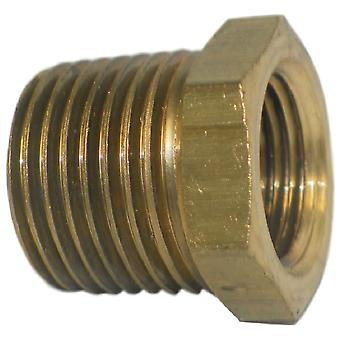 Big A Service Line 3-21086 Inverted Male Tube Connector 1/2