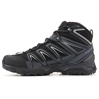 Sapatos masculinos de Salomon X Ultra 3 ampla Mid Gtx 401293