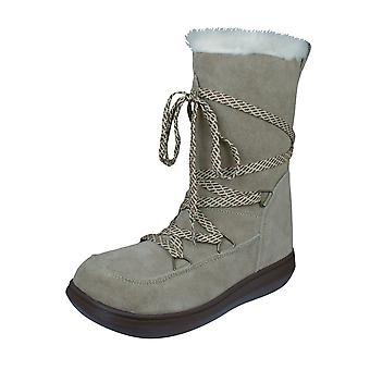 Rocket Dog Snowcrushed Womens Suede Snow Boots - Sand