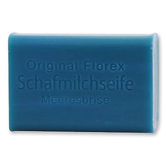 Florex Schafmilchseife - Meeresbrise - herrlicher frischer Duft mit viel Feuchtigkeit 100 g