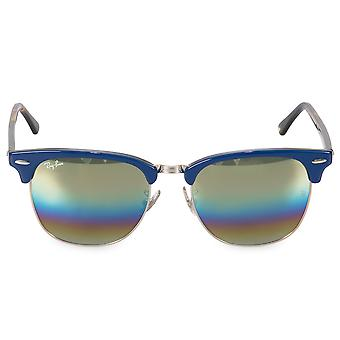 Ray-Ban Clubmaster Mineral Flash Lens Sunglasses RB3016-F 1223C4 55
