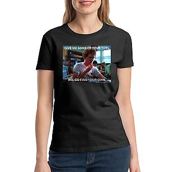 Napoleon Dynamite Tots Women's Black T-shirt