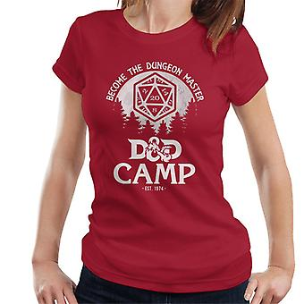 D And D Camp Become A Dungeon Master Women's T-Shirt