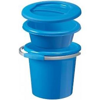 Sunware water-line set small blue