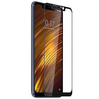 Screen protector for Xiaomi Pocophone F1, Tempered Glass with black edges