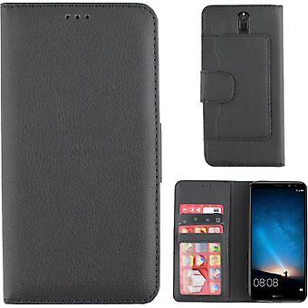 Colorfone Wallet Huawei Mate 10 Little Wallet case BLACK