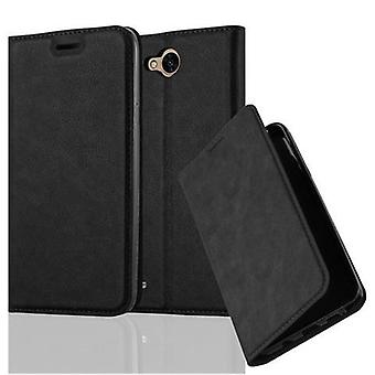 Cadorabo case for LG X POWER 2 - mobile case with magnetic closure, stand function and card holder - case cover sleeve pouch bag book Klapp style