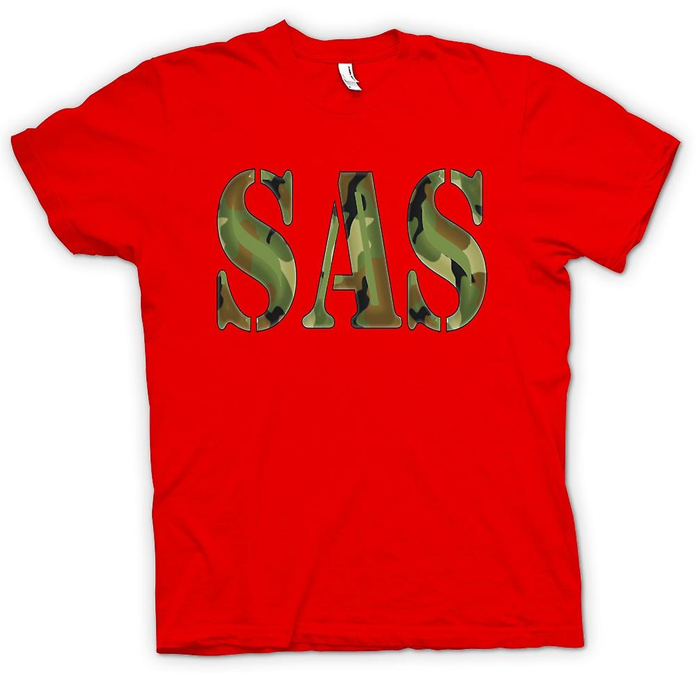 Mens T-shirt - SAS - Special Air Service