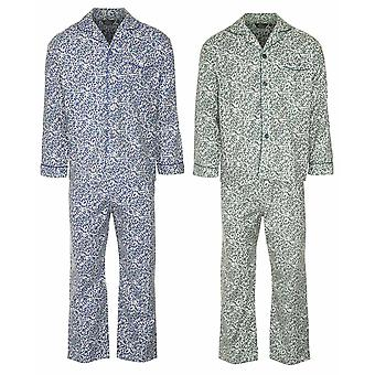 Champion Mens Paisley Brushed Cotton Pyjama (Pack of 2)