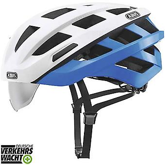 Abus In-Vizz Ascent Fahrradhelm // blue comb