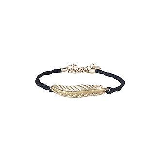 Lovemystyle cuerda estilo pulsera con pluma metálica