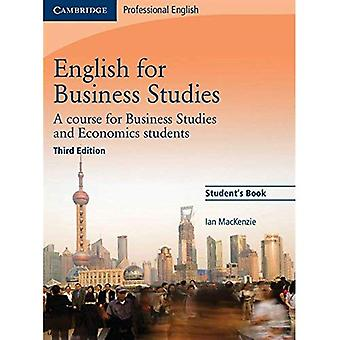 English for Business Studies Student's Book: A Course for Business Studies and Economics Stu...