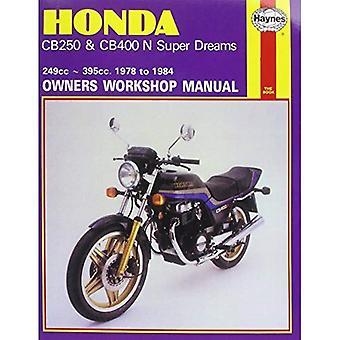 Manuel d'atelier Honda CB250 et du CB400N Superdreams propriétaire (moto manuels)