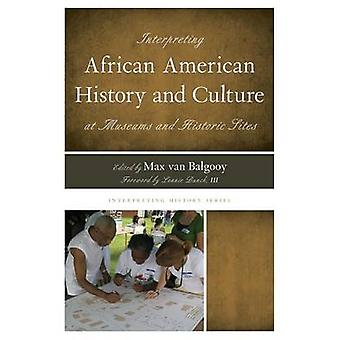 Interpreting African American History and Culture at Museums and Historic Sites by Van Balgooy & Max