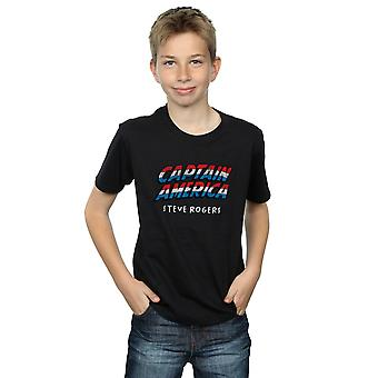 Marvel Boys Captain America AKA Steve Rogers T-Shirt