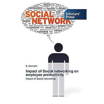 Impact of Social networking on employee productivity by Gomathi S.