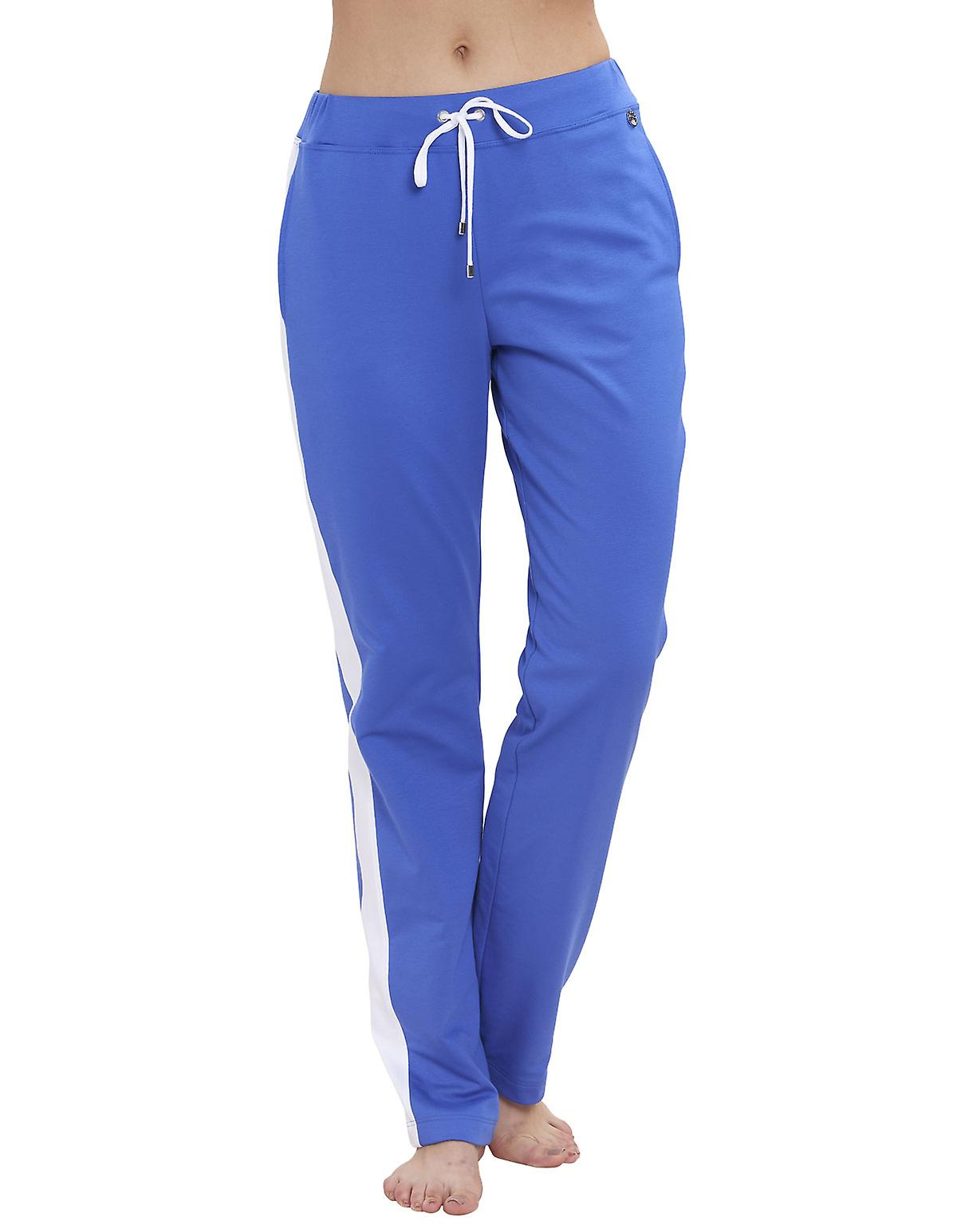 Feraud 3191258-10425 Women's Casual Chic Royal Blue Pyjama Pant