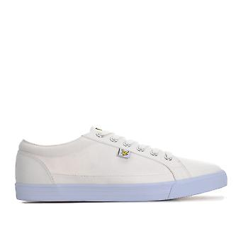 Mens Lyle And Scott Helier Trainers In White