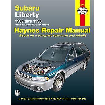 Subaru Liberty Australian Automotive Repair Manual - 1989 to 1998 by T