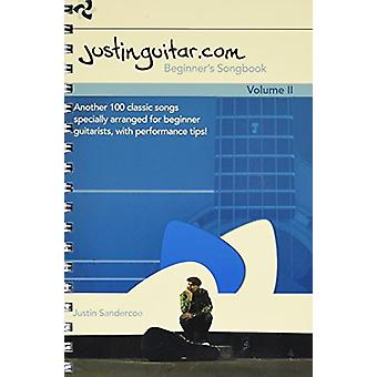 The Justinguitar.Com Beginner's Songbook - Volume 2 - 9781785581359 Bo
