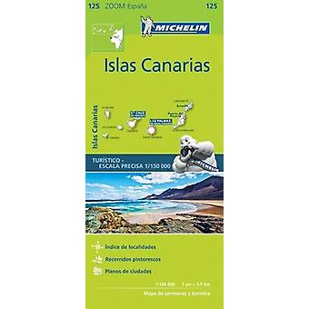 Canary Islands Zoom Map 125 - Iles Canaries - 9782067217959 Book