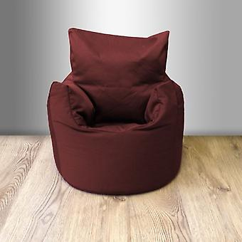 Toddler Cotton Twill Bean Bag Stuhl-Wein