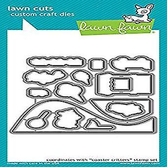 Lawn Fawn Coaster Critters Dies (LF1695)