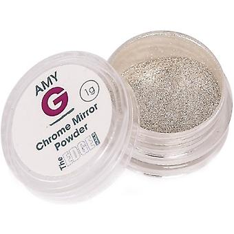 The Edge Nails Amy G - Mirror Pigment Nail Art Powders - Chrome 1g (3003017)