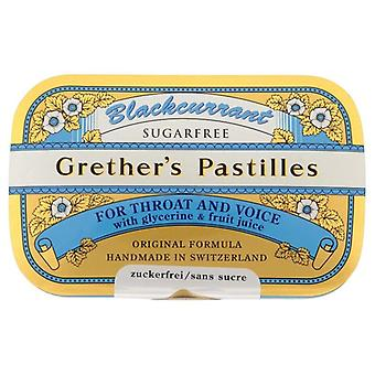 Grether es BlackCurrant Pastilles Sugar Free 440g