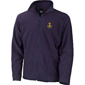 Royal Waggon Train - Licenza British Army Ricamato Leggero Microfleece Giacca