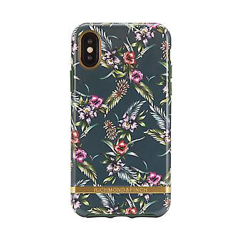 Richmond & Finch shells for IPhone XS Max-Emerald Blossom