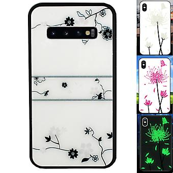 BackCover Magic Glass voor Samsung S10 Roos