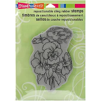Stampendous Cling Rubber Stamp 6.5