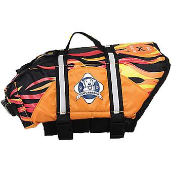 Pfoten an Bord Doggy Schwimmweste Extra Small-Racing Flames XS1200-F1200