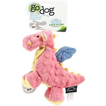 goDog Dragons avec Chew Guard Small-Coral 770801
