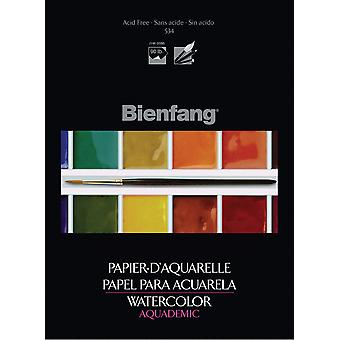 Bienfang Aquademic Watercolor Paper Pad 9