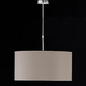 Pendant light HV halogen, LED E27 77 W Honsel Marie 63801 Cappuccino