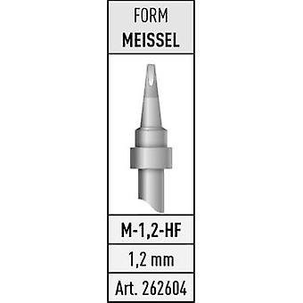 Soldering tip Chisel-shaped Stannol M-1,2-HF Content 1 pc(s)