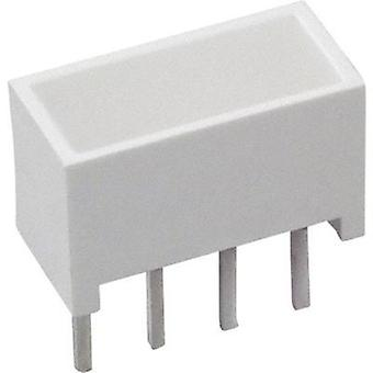 LED component Yellow (L x W x H) 10.28 x 10.16 x 4.95 mm Broadc